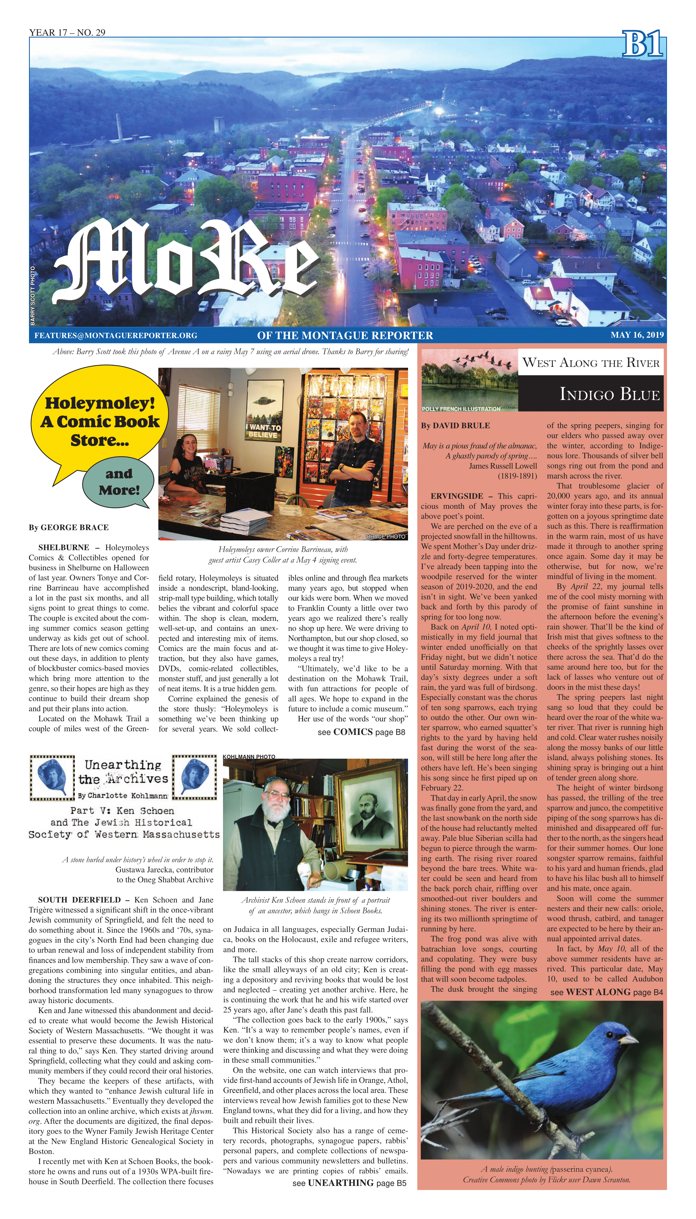 Montague Reporter, May 16 2019